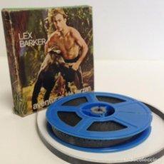Cine: TARZAN: MONSTRUOS PREHISTÓRICOS - MUDA - LEX BARKER - JOHNNY WEISSMULLER - SUPER 8 MM *ARIES FILMS*. Lote 216959572