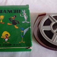 Cine: ANTIGUA PELICULA COLOR 8MM BIANCHI. Lote 217521117