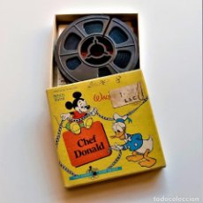 Cine: CHEF DONALD PELICULA ORIGINAL WALT DISNEY SUPER 8MM FILM - 8 X 8.CM. Lote 217653298