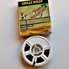 Cine: CHILLY WILLY FISH HOOKED PELICULA SUPER 8MM FILM - 8 X 8.CM. Lote 217653355