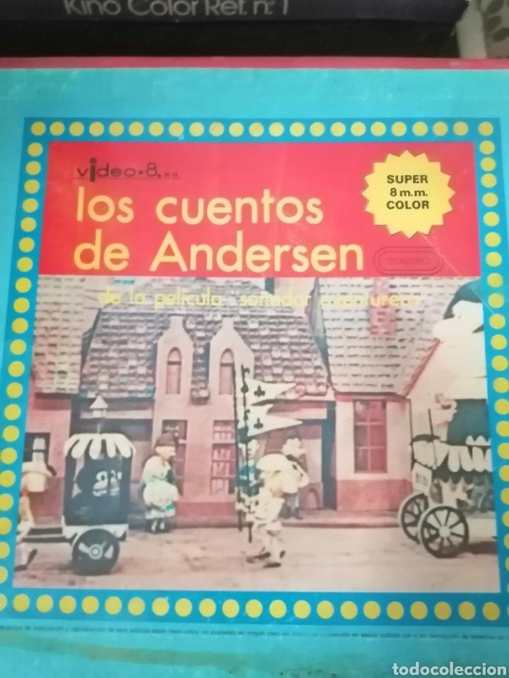 LOS CUENTOS DE ANDERSEN SÚPER 8 MM (Cine - Películas - 8 mm)