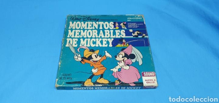 PELÍCULA- MOMENTOS MEMORABLE DE MICKEY SOUND SUPER 8 COLOR (Cine - Películas - 8 mm)