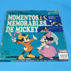 Cine: PELÍCULA- MOMENTOS MEMORABLE DE MICKEY SOUND SUPER 8 COLOR. Lote 223220698