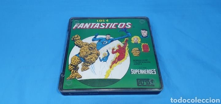 CINTA SUPER 8 MM CON CAPÍTULO SERIE SUPERHEROES LOS 4 FANTASTICOS (Cine - Películas - 8 mm)