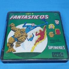 Cine: CINTA SUPER 8 MM CON CAPÍTULO SERIE SUPERHEROES LOS 4 FANTASTICOS. Lote 223224076