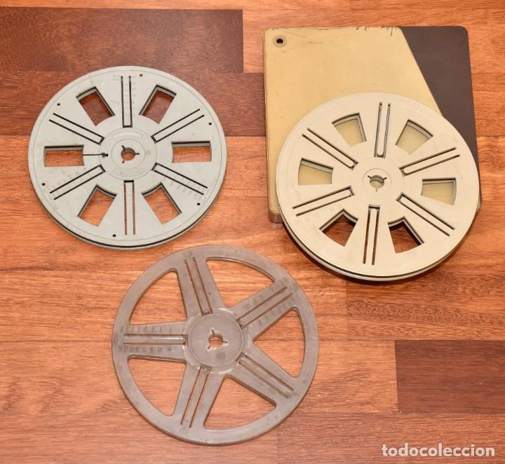 3 BOBINAS DE SUPER-8 (Cine - Películas - 8 mm)