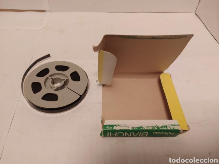 Cine: Western Bianchi 8mm B/N asalto a la diligencia, no sonoro - Foto 3 - 242285050