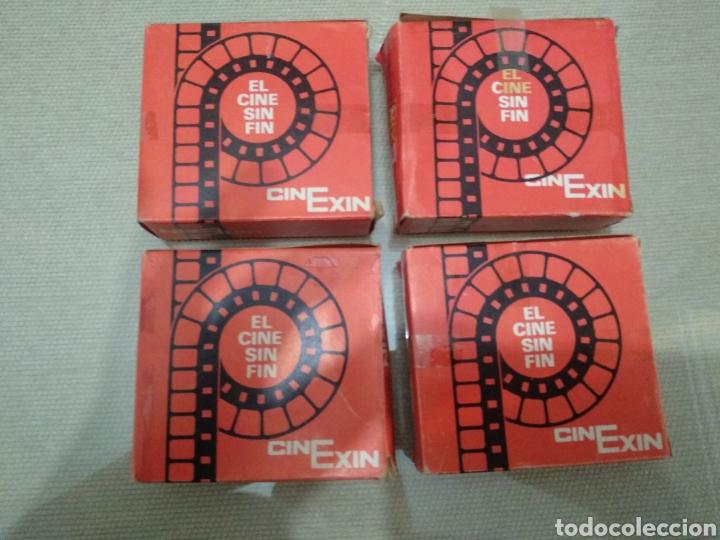 LOTE DE BOBINAS 8 MM CINE EXIN (Cine - Películas - 8 mm)