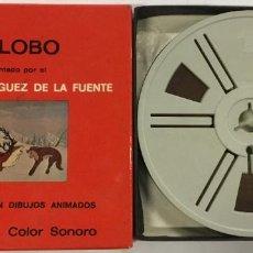 Cine: FILM DIBUJOS ANIMADOS – SUPER 8 MM – DR. FELIX RODRIGUEZ DE LA FUENTE.. Lote 245372440