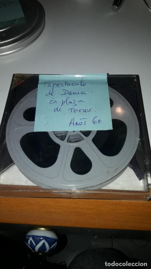 PELÍCULA DOMESTICA EN SUPER 8 MM. ESPECTÁCULO DE DOMA. VARIOS JINETES. AÑOS 60. LUGAR SIN DETERMINAR (Cine - Películas - 8 mm)