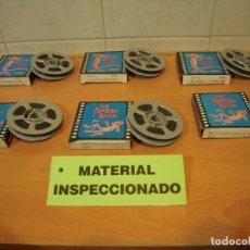Cinéma: 6 PELICULAS DE LA PANTERA ROSA CINE DE 8MM TITULOS VARIADOS NUEVAS STOCK DE ALMACEN. Lote 251514060