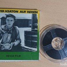 Cinéma: BUSTER KEATON · AUF REISEN · REVUE FILM · NORMAL 8 · 30 M · 8675 · RARE. Lote 252291445