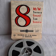 Cine: POLONAISE OPUS 53 DE CHOPIN ARTHUR RUBINSTEIN 8 MM B/N SONORO FILM OFFICE. Lote 252816305