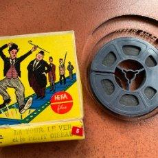 Cine: ANTIGUA PELICULA 8MM THE TORTOIS. LA TOUR, LE VER ET LE PETIT OISEAU. EDITIONS HEFA. Lote 253245900
