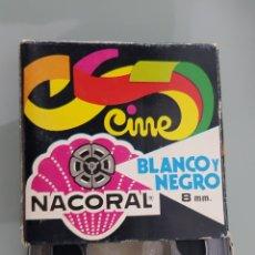Cine: PELÍCULA BLANCO Y NEGRO 8 MM. NACORAL. Lote 254669805