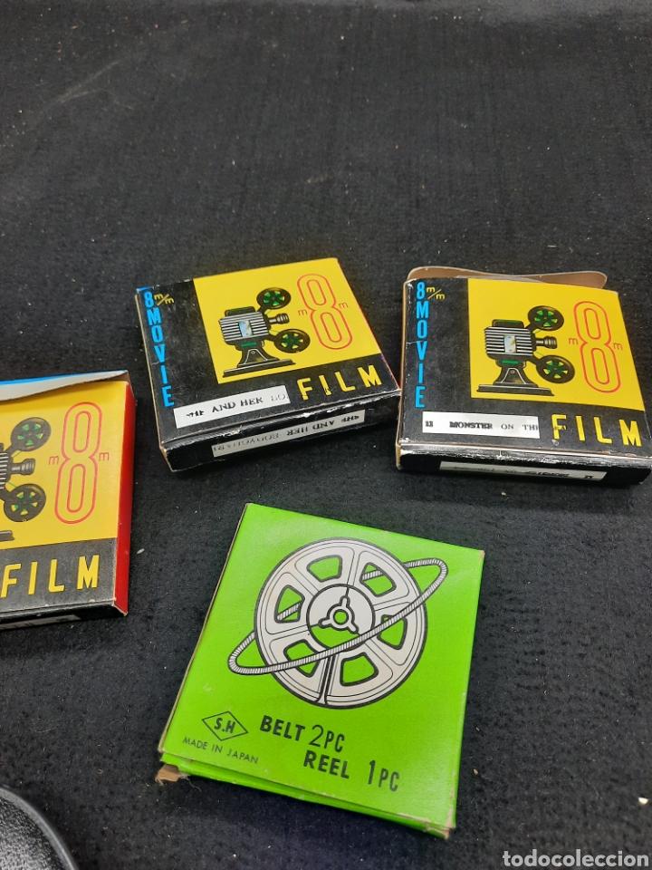4 PELÍCULAS 8 MM (Cine - Películas - 8 mm)