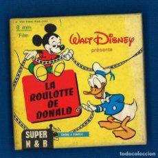 Cine: LA ROULETTE DE DONALD. 8 MM. EN FRANCÉS. Lote 262727585