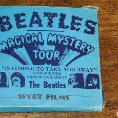 Cine: RAREZA THE BEATLES - THE MAGICAL MYSTERY TOUR - SUPER 8 A COLOR ROLLO 4. Lote 270886423