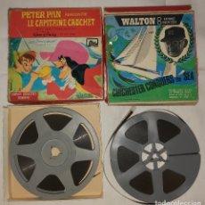 Cine: PACK DE DOS PELÍCULAS 8 MM – PETER PAN – WALTON. Lote 271009518