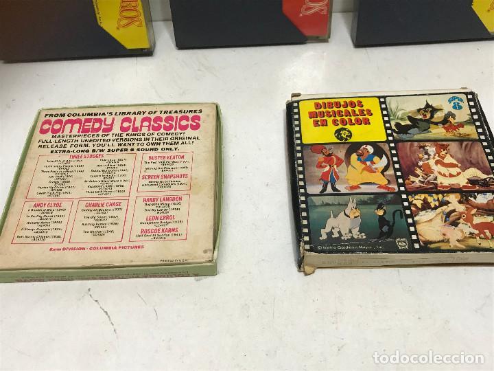 Cine: LOTE 5 PELÍCULAS SUPER 8 ANTIGUAS AÑOS 70 - Foto 8 - 280265603