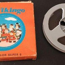 Cine: SUPER 8-VICKY EL VIKINGO FUGA DEL CASTILLO 1974. Lote 288540798