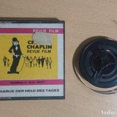 Cine: CHARLIE CHAPLIN · RARE DER HELD DES TAGES · REVUE FILM · NORMAL 8 · 15 M · 8667. Lote 294835808