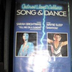 Cine: SONG DANCE-BETA. Lote 24210790
