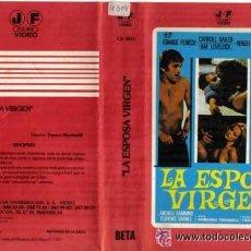 Cine: LA ESPOSA VIRGEN · VIDEO BETA · EDWIGE FENECH | CARROLL BAKER | RENZO MONTAGNANI · ITALIANADA. Lote 27147767
