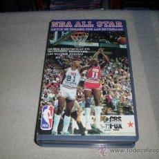 Cine: PELICULA BETA : ALL STAR NBA . EL FIN DE SEMANA DE LAS ESTRELLAS - LOS 36 JUEGOS ANULALES - 1986-. Lote 25055162