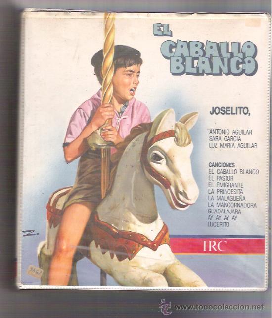 BETA EL CABALLO BLANCO - JOSELITO - CARATULA GRANDE (Cine - Películas - BETA)