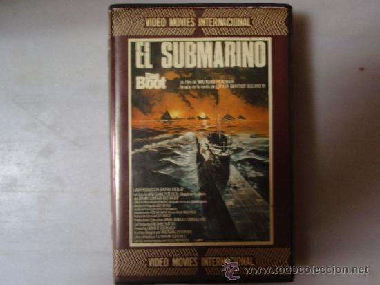 EL SUBMARINO (DAS BOOT) - WOLFGANG PETERSEN - PELICULA BETA BETAMAX. (Cine - Películas - BETA)