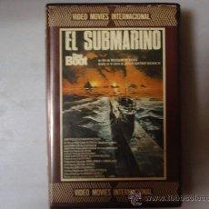 Cine: EL SUBMARINO (DAS BOOT) - WOLFGANG PETERSEN - PELICULA BETA BETAMAX.. Lote 22719043