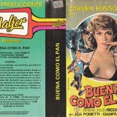 Cine: BUENA COMO EL PAN (TÍTULO ORIG. BUONA COME IL PANE) CARMEN RUSSO. ITALIANADA • BETAMAX + DVD GRATIS.. Lote 27180901