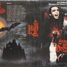 Cine: BETA\. SANGRE PARA DRACULA ( REGALO DVD GRATIS ) JOE DALLESANDRO, UDO KIER, VITTORIO DE SICA. Lote 26386491