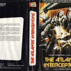 Cine: THE ATLANTIS INTERCEPTORS · VIDEO BETAMAX · RUGGERO DEODATO · POST-APOCALIPTICO | FUTURISTA SC-FI. Lote 26754615