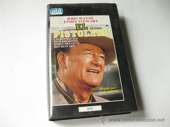 EL PISTOLERO - JOHN WAYNE - JAMES STEWART (Cine - Películas - BETA)