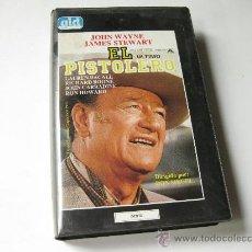 Cine: EL PISTOLERO - JOHN WAYNE - JAMES STEWART. Lote 26492656