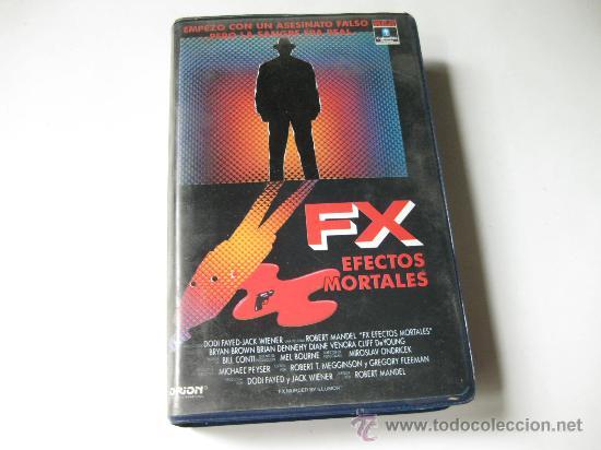 FX - EFECTOS MORTALES - PELÍCULA BETA (Cine - Películas - BETA)