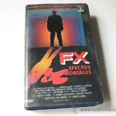 Cine: FX - EFECTOS MORTALES - PELÍCULA BETA. Lote 26492811
