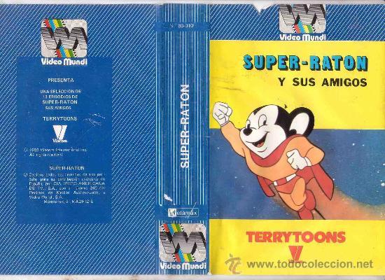 super raton y sus amigos beta dibujos animados  Comprar