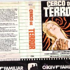 Cine: CERCO DE TERROR-BETA. Lote 35190942