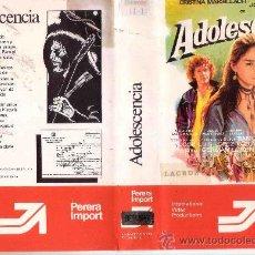 Cine: ADOLESCENCIA-BETAMAX-GERMAN LORENTE. Lote 36556697
