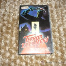 Cine: PELICULA BETA TERROR EN EL MENU 1992 . Lote 37056089