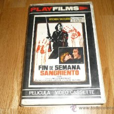 Cine: PELICULA SITEMA 2000 FIN DE SEMANA SANGRIENTO BRENDA VACCARO DON STROVO CHUCK SHAMATA 1977 IMPOSIBLE. Lote 37263663