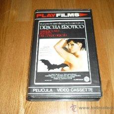 Cine: PELICULA SITEMA 2000 ABERRACIONES SEXUALES CONDE DRACULA VANESA DEL RIO SAMANTHA FOX IMPOSIBLE. Lote 37263727