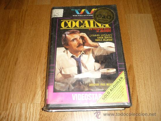 PELICULA SISTEMA 2000 COCAINA DE PAUL WENDKOS 90`1984 1A EDICION RARAR !!!! (Cine - Películas - BETA)