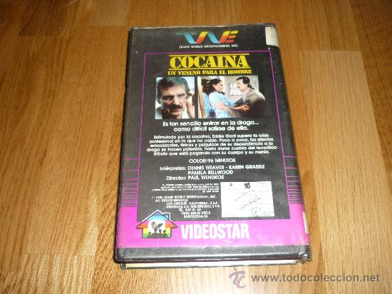 Cine: PELICULA SISTEMA 2000 COCAINA DE PAUL WENDKOS 90`1984 1A EDICION RARAR !!!! - Foto 3 - 37325593