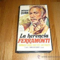 Cine: PELICULA SISTEMA 2000 LA HERENCIA FERRAMONTI . Lote 37541045