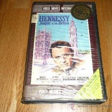 Cine: PELICULA SISTEMA 2000 HENNESSY JAQUE A LA REINA ROD STEIGER LEE REMICK IVS RARA !!!. Lote 37546514