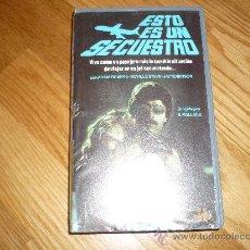 Cine: PELICULA BETA ESTO ES UN SECUESTRO (1973) BARRY POLLACK ¡DESCATALOGADA! . Lote 37769710